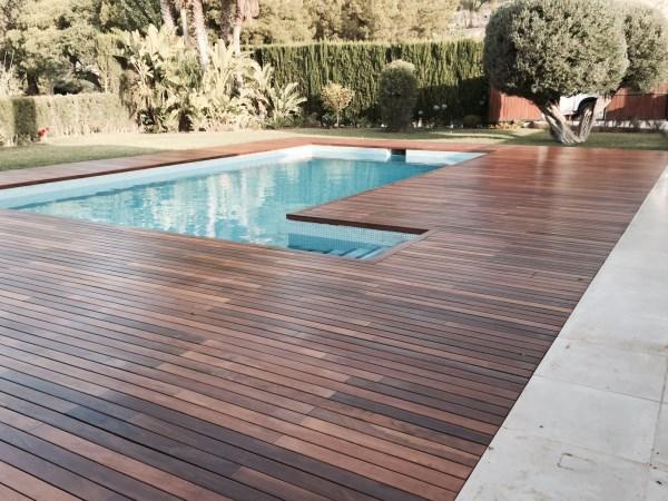 Suelos de exterior piscinas carpinteria fusta for Suelos para alrededor de piscinas
